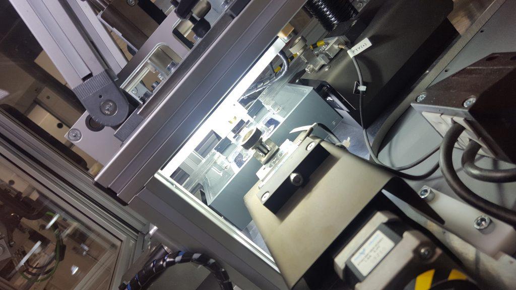 Projektbild SELMO Automation Teil eines Testautomaten