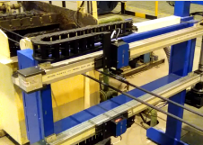 Projektbild für eine Drahtmesser Prüfstation von SELMO Automation